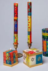 "South Africa,  Pair Taper Candles 9"" Judaica"