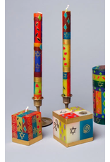 """South Africa,  Pair Taper Candles 9"""" Judaica"""