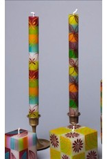 "Magic Garden, Pair Taper Candles 9"", South Africa"