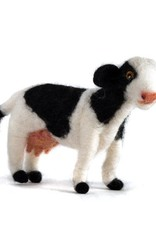 Guatemala, Felted Wool Animals Cow