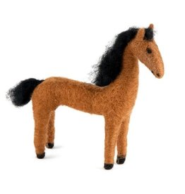 Felted Wool Animals Horse, Guatemala