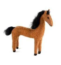 Felted Wool Animal, Horse, Guatemala