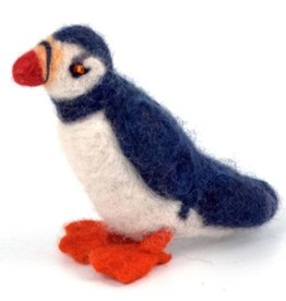 Guatemala, Felted Wool Animals Puffin