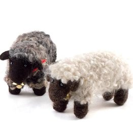 Guatemala, Felted Wool Animals Sheep