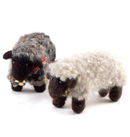 Felted Wool Animals, Sheep, Guatemala