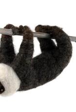 Guatemala, Felted Wool Animals Sloth