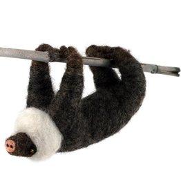 Felted Wool Animals Sloth, Guatemala
