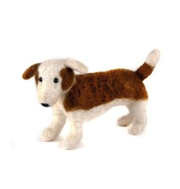 Felted Wool Animals Standing Dog, Guatemala
