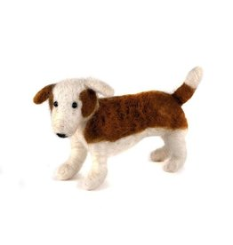 Felted Wool Animal, Standing Dog, Guatemala