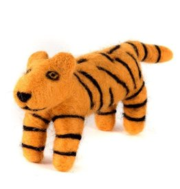 Felted Wool Animals Tiger, Guatemala