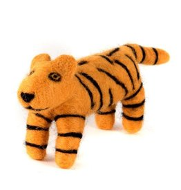 Felted Wool Animal, Tiger, Guatemala