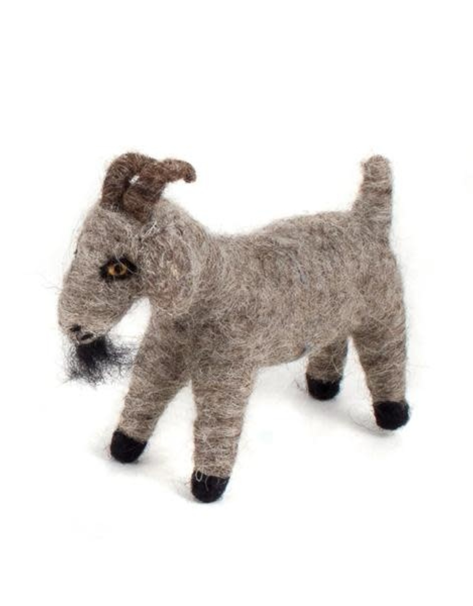 Guatemala, Felted Wool Animals Goat