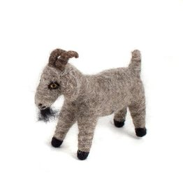 Felted Wool Animals Goat, Guatemala,