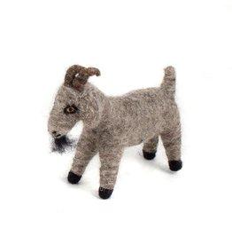 Felted Wool Animals Goat, Guatemala
