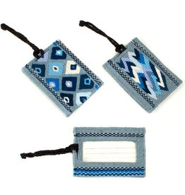 Guatemala, Diamond Luggage Tag