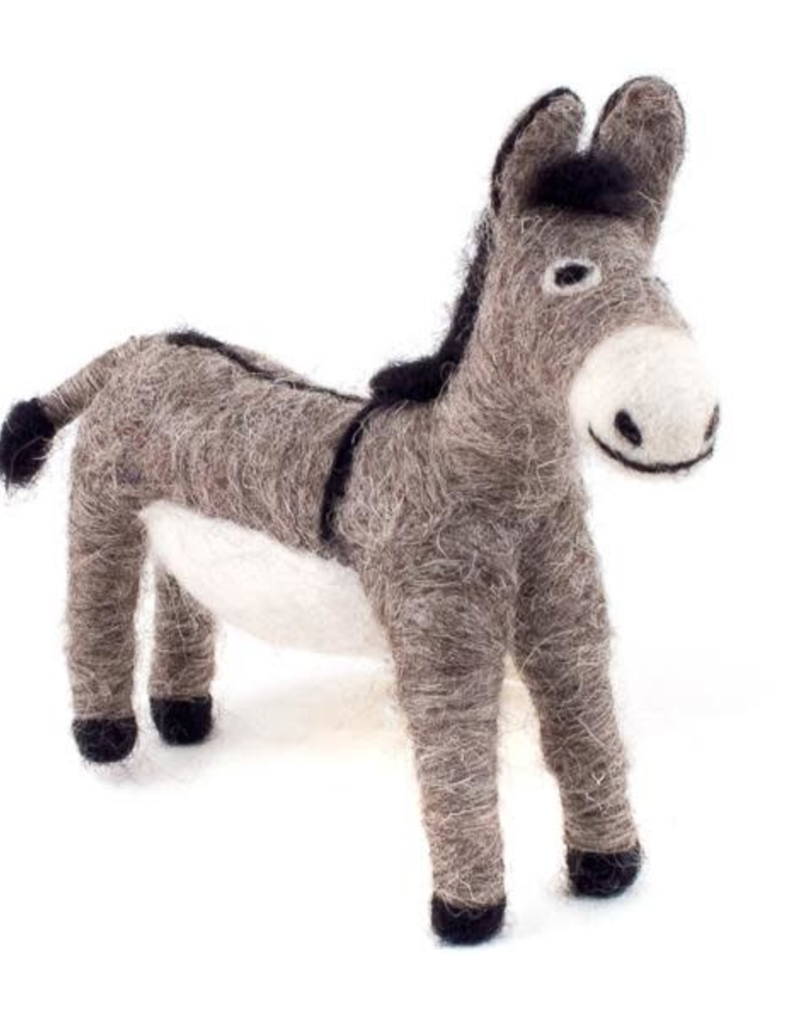 Felted Wool Animals Donkey, Guatemala