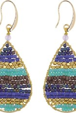 Akha Earrings- Lauren Blue