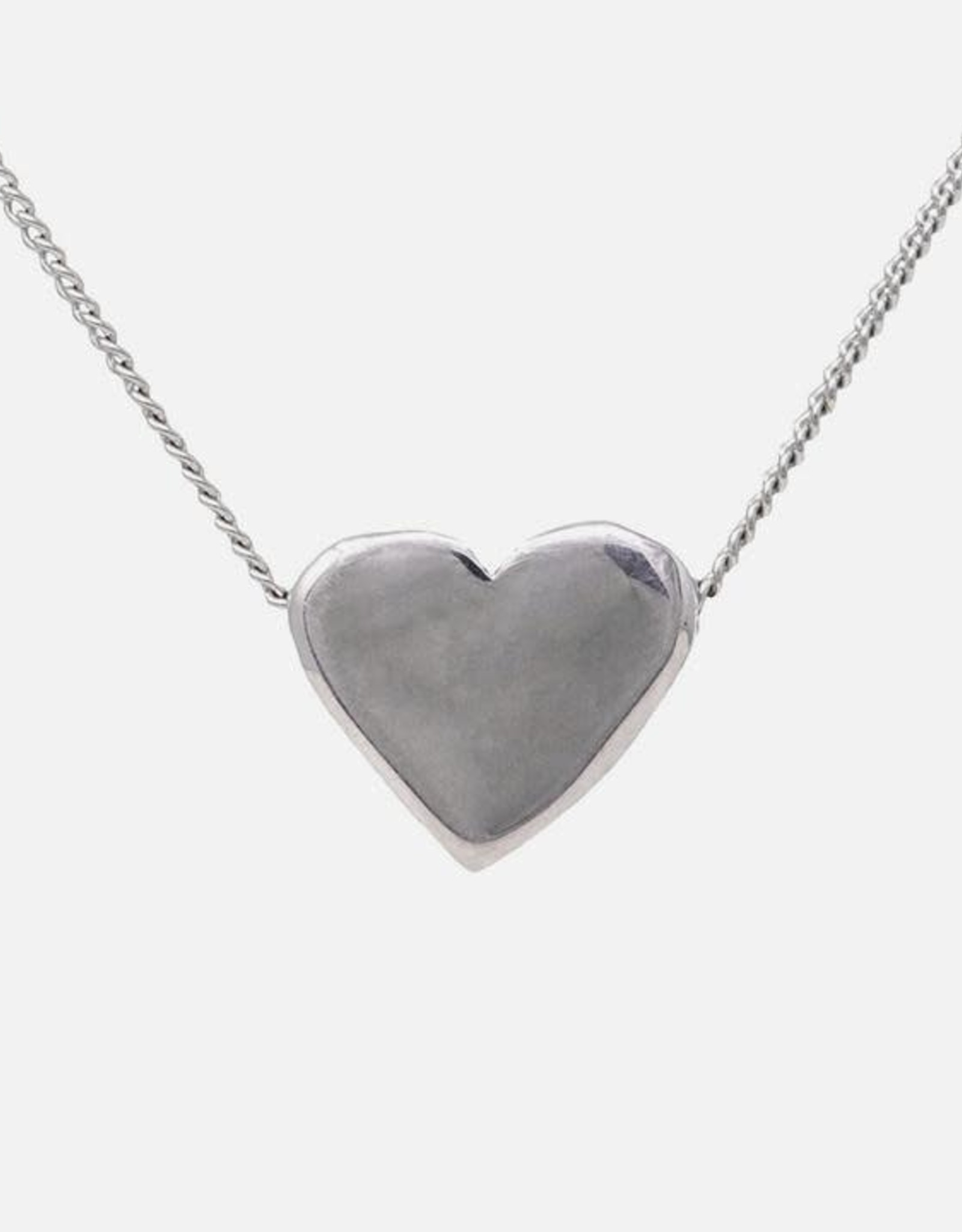 """Adoring Necklace on Sterling Silver Chain 18"""""""