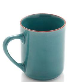 Turquoise Song Cai Medium Mug