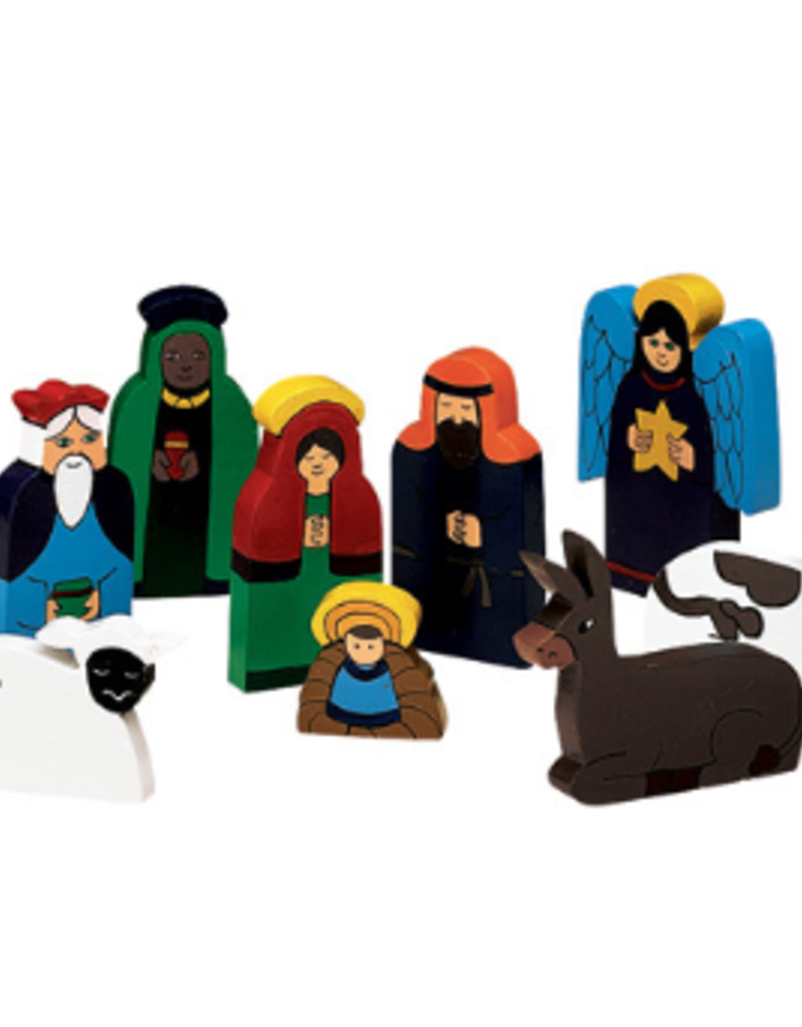 Bright Wood Nativity