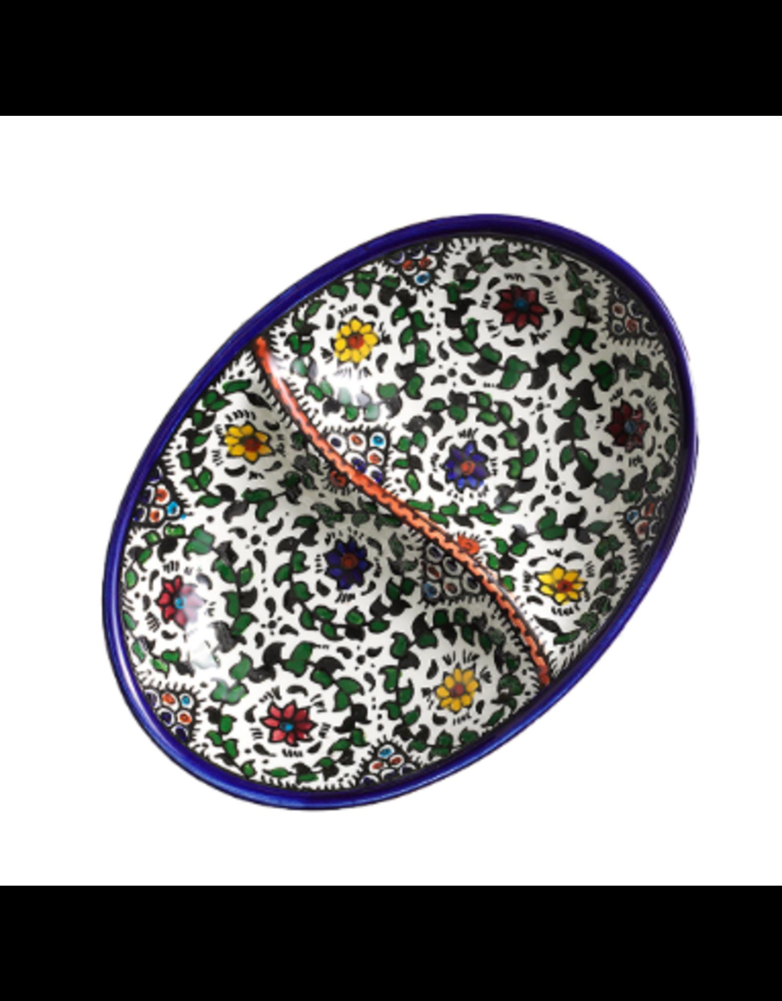 Ceramic Divided Dish