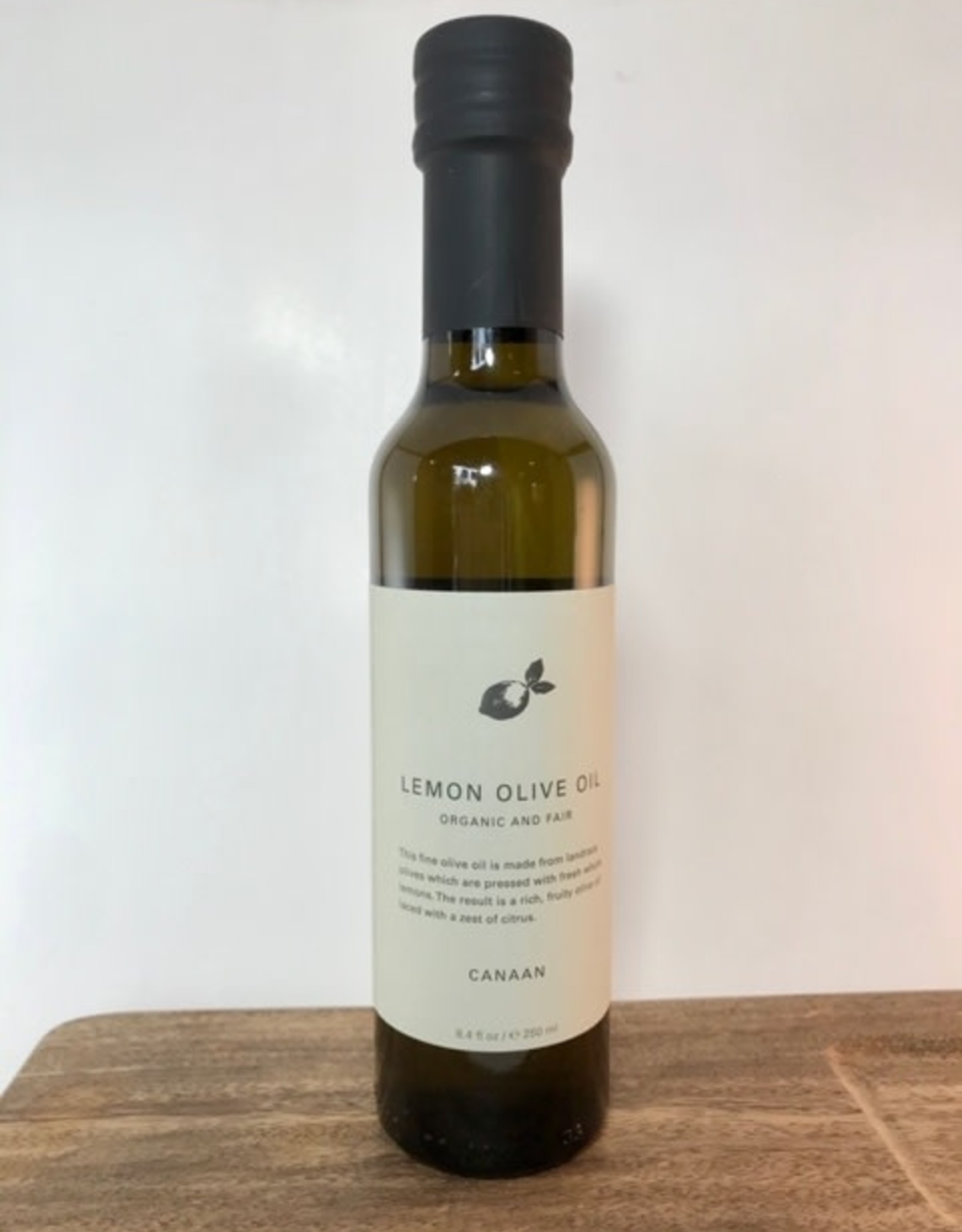 Canaan Infused Olive Oil  Lemon