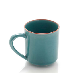 Turquoise Song Cai Cappuccino Mug, Vietnam
