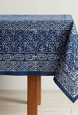 India, Dabu Block Print Table Cloth 120x70