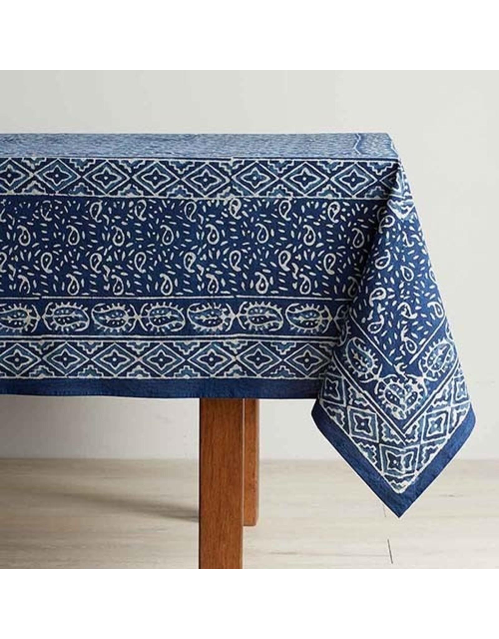 Dabu Block Print Table Cloth 120x70, India