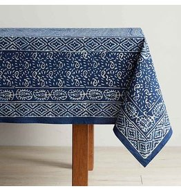 Dabu Block Print Table Cloth 120x70, India