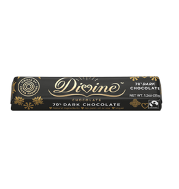 Divine Chocolate, Dark, Small Bar
