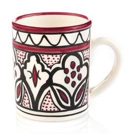 West Bank, Ceramic Mug Rose