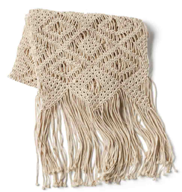 India, Macrame Table Runner