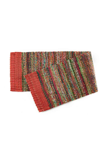 Sari Table Runner, Red, India
