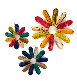 Philippines, Rustic Wall Flower, Sustainable Materials M