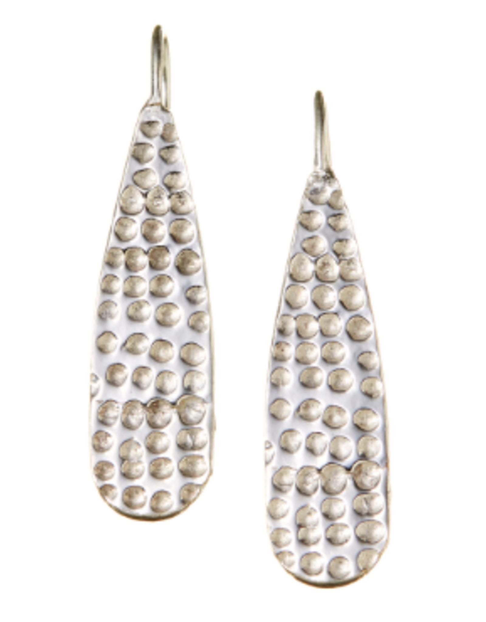 India, Silver Plated Sarala Earrings