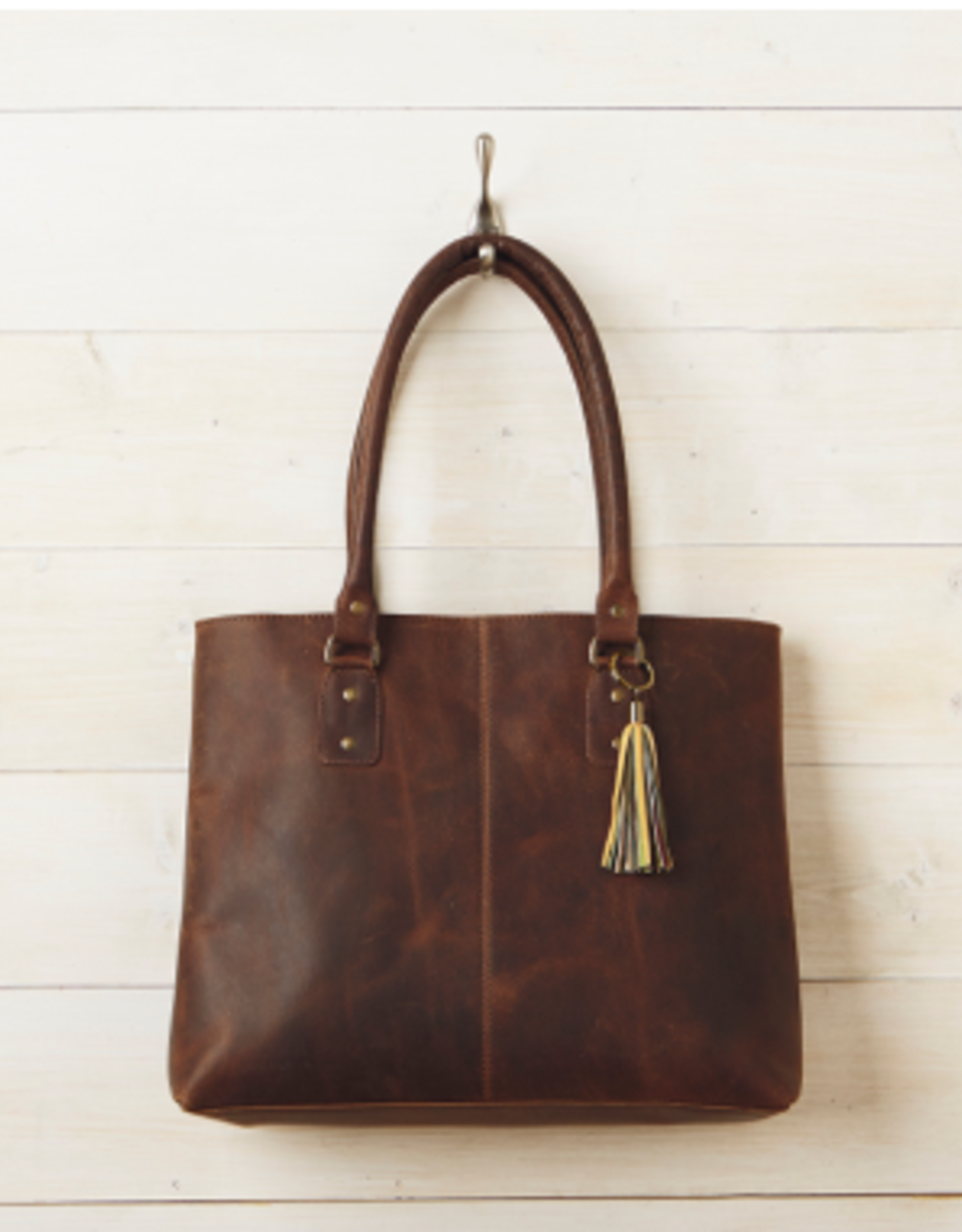 Rustic Leather Bag, India