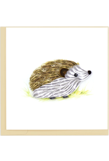 Hedgehog Quilling Card