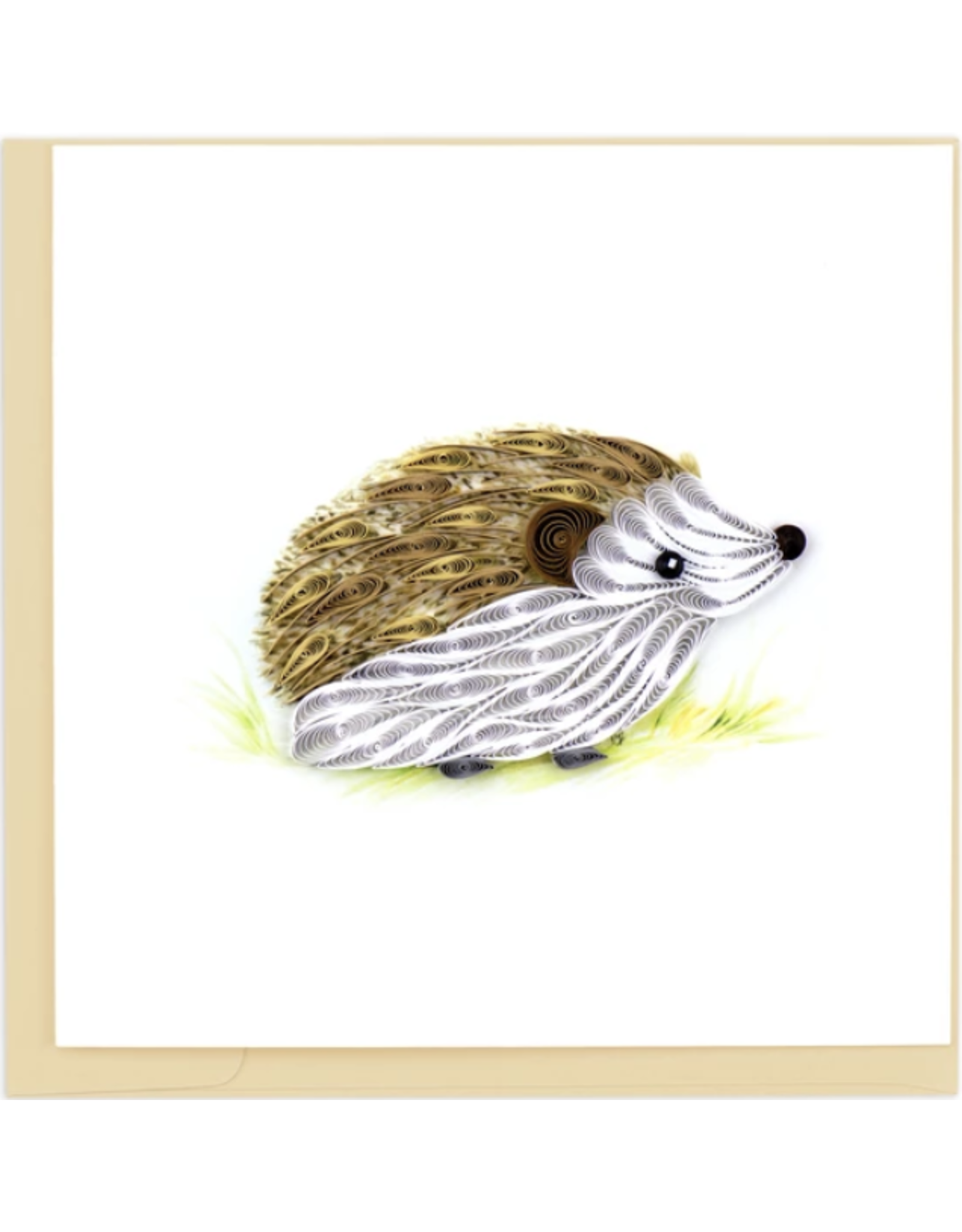 Hedgehog Quilling Card, Vietnam