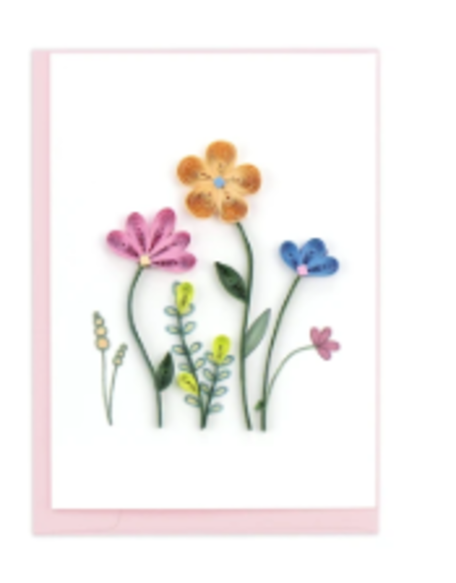 Wildflowers Quill Enclosure Card