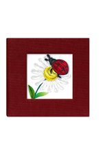 Quill Post It Notes Cover, Lady Bug, Vietnam