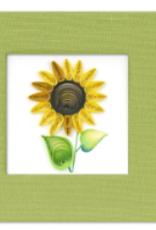 Vietnam, Quill Sticky Notes Sunflower