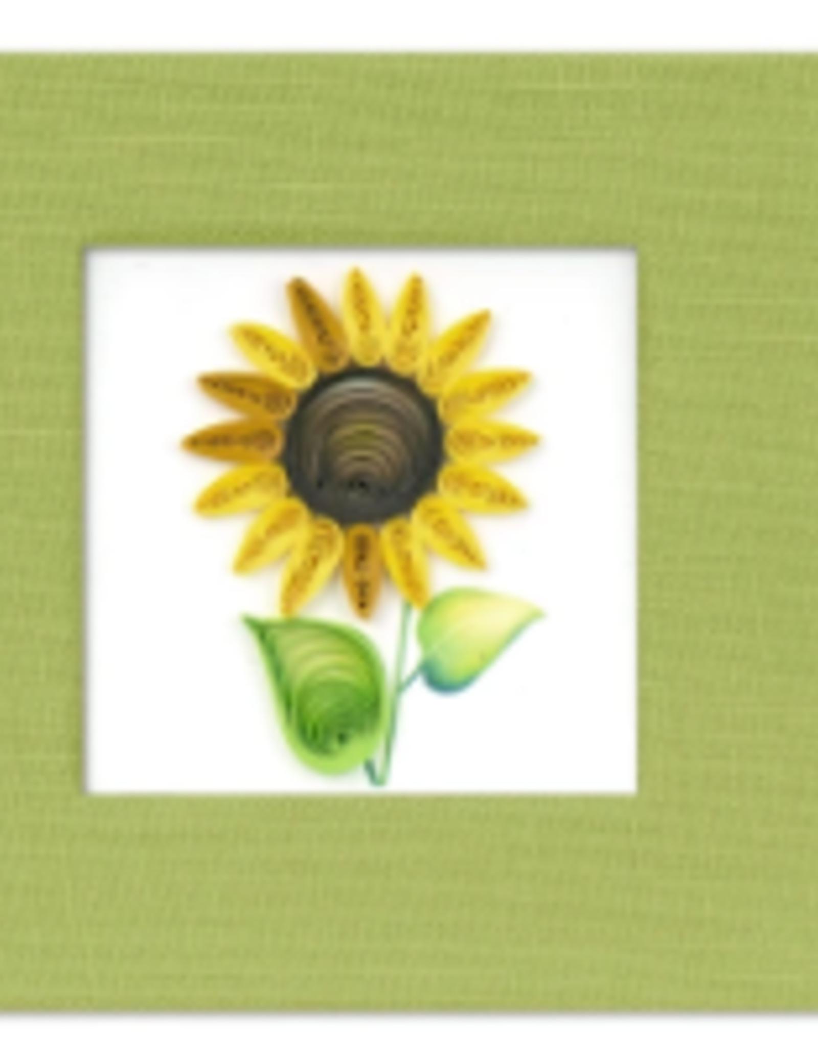 Vietnam, Quill Sticky Notes, Sunflower
