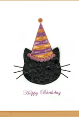 Happy Birthday Cat Quilling Card