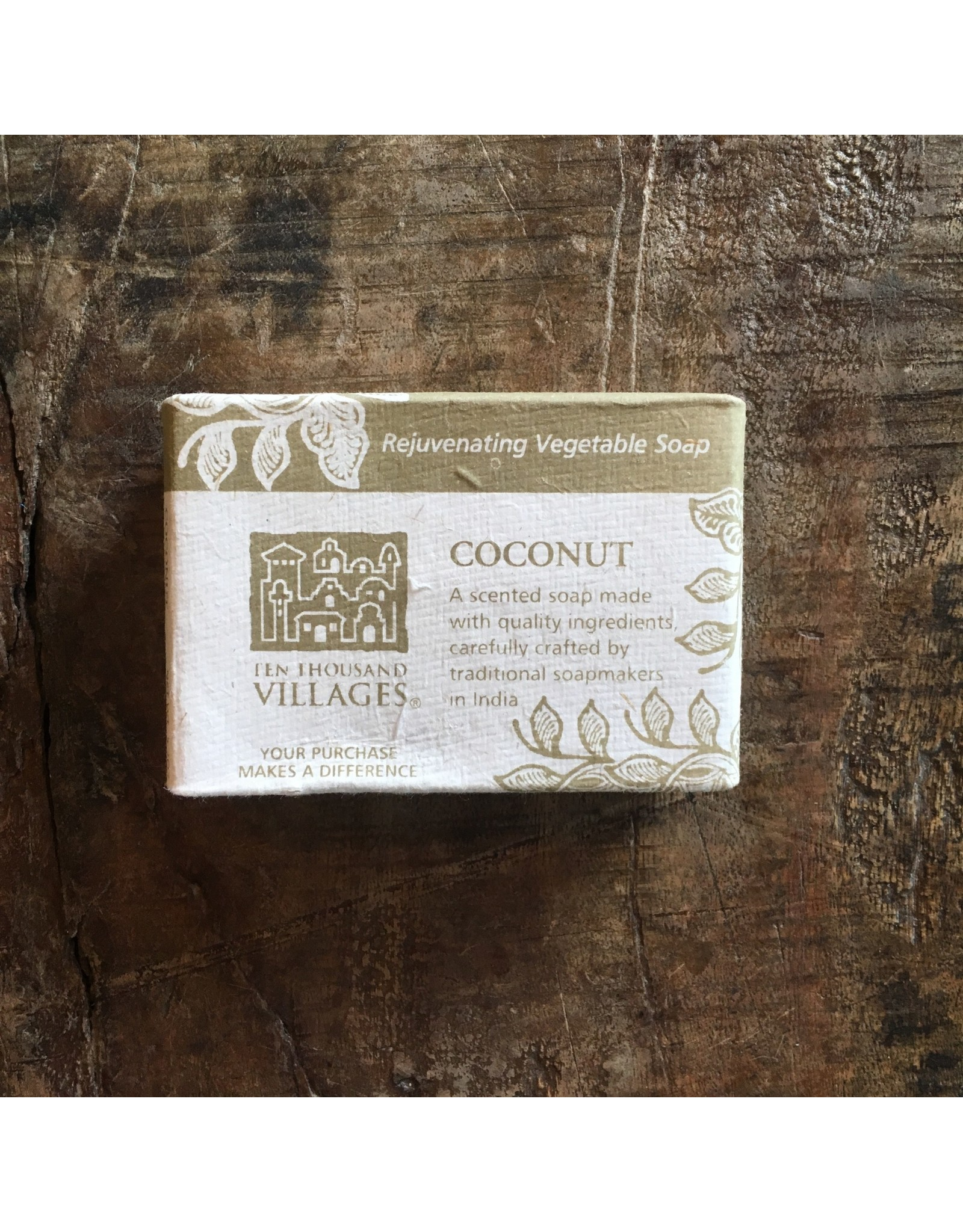 feb17 Vegetable Soap Coconut, India