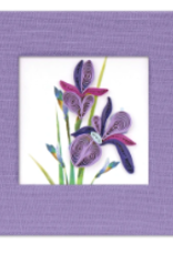 Vietnam, Quill Sticky Notes Iris