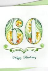 60th Birthday Quill