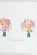 Two Brides Quilling Card