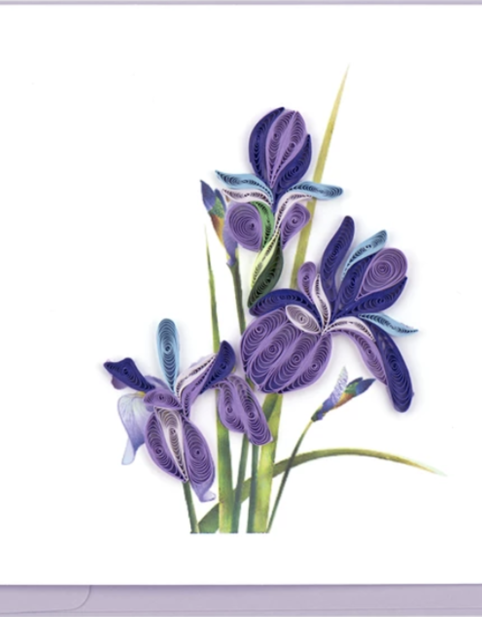 Iris Quill Card