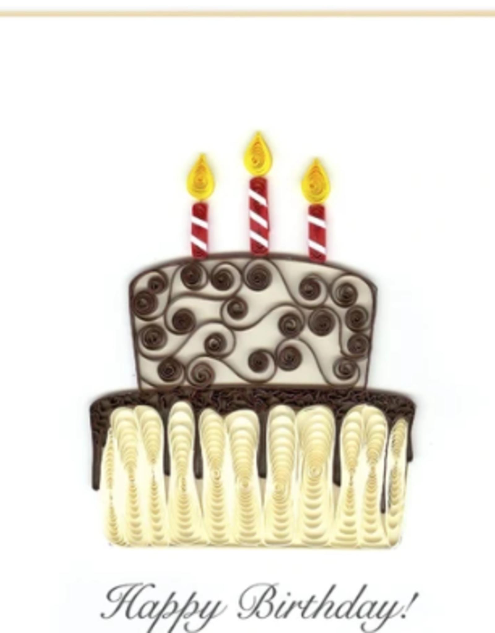 Vietnam, Happy Birthday Cake Quill